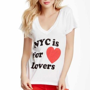 WILDFOX NYC is For Lovers T-Shirt